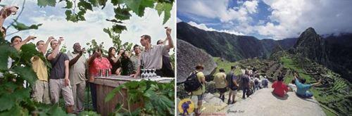 wine tasting trekking