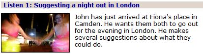 A night out in London