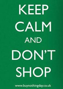 Don't shop
