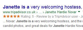 Janette is a welcoming hostess