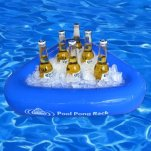 Floating beer cooler