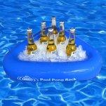 Floating beer cooler