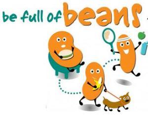 be full of beans