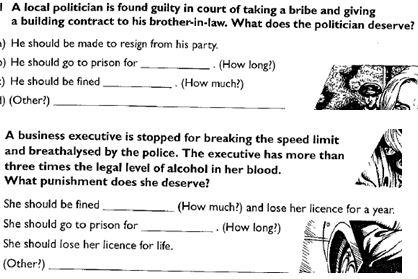 Judge and Punishment 1