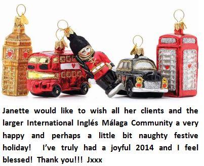 Janette Says Happy Festive Holiday Ingl 233 S M 225 Laga