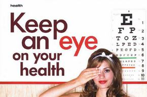 keep an eye on