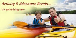 activity and adventure breaks