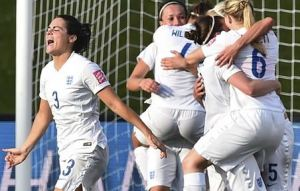 England Womens World Cup 2015