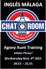 Ingles Malaga Chat Room Agony Aunt Advice