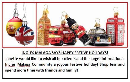 Happy Christmas Inglés Málaga