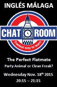 Ingles Malaga Chat Room The Perfect Flatmate