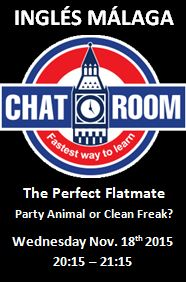 Ingles Malaga Chat Room The Perfect Flatmate