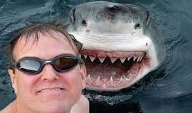 selfie and shark