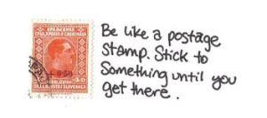 stick to