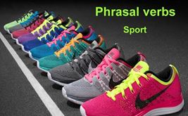 phrasal verbs sport