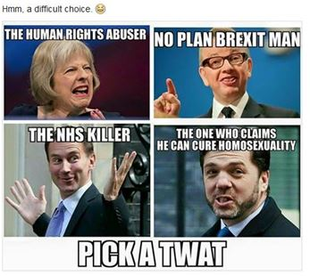 UK right-wing politicians