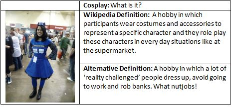 Hobby and Costumes