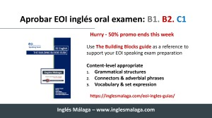 EOI ingles speaking modelos