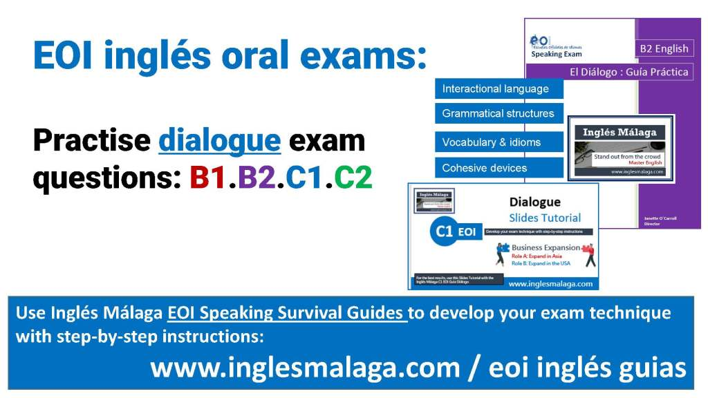 EOI ingles guias aprobar el exam oral